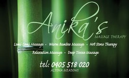 Anikas Massage Therapy - Attractions Brisbane