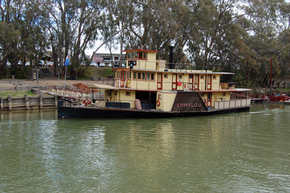 Emmylou Paddle Steamer - Attractions Brisbane