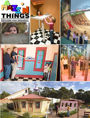 A Maze 'N Things - Attractions Brisbane