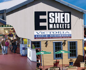 The E Shed Markets - Attractions Brisbane