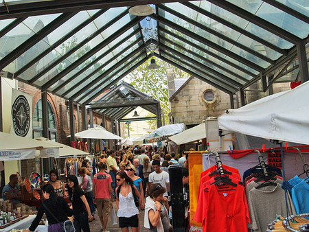 Paddington Markets - Attractions Brisbane