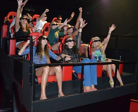 7D Cinema - Virtual Reality - Attractions Brisbane