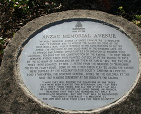 Anzac Memorial Avenue Redcliffe - Attractions Brisbane