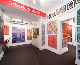 The Artery Aboriginal Art - Attractions Brisbane