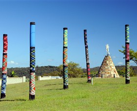 Maclean Tartan Power Poles - Attractions Brisbane
