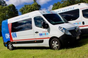 Brisbane Airport Departure shuttle Transfer from Sunshine Coast Hotels/addresses - Attractions Brisbane
