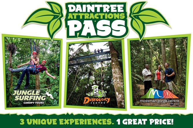 Daintree Atttractions Pass The Best of the Daintree in a Day - Attractions Brisbane