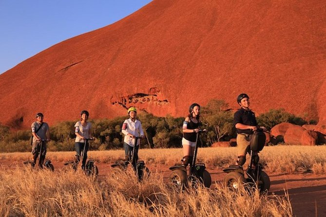 Quarter Uluru Segway  Sunset - Attractions Brisbane
