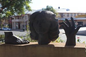 Celebration of life statue Barmera - Attractions Brisbane
