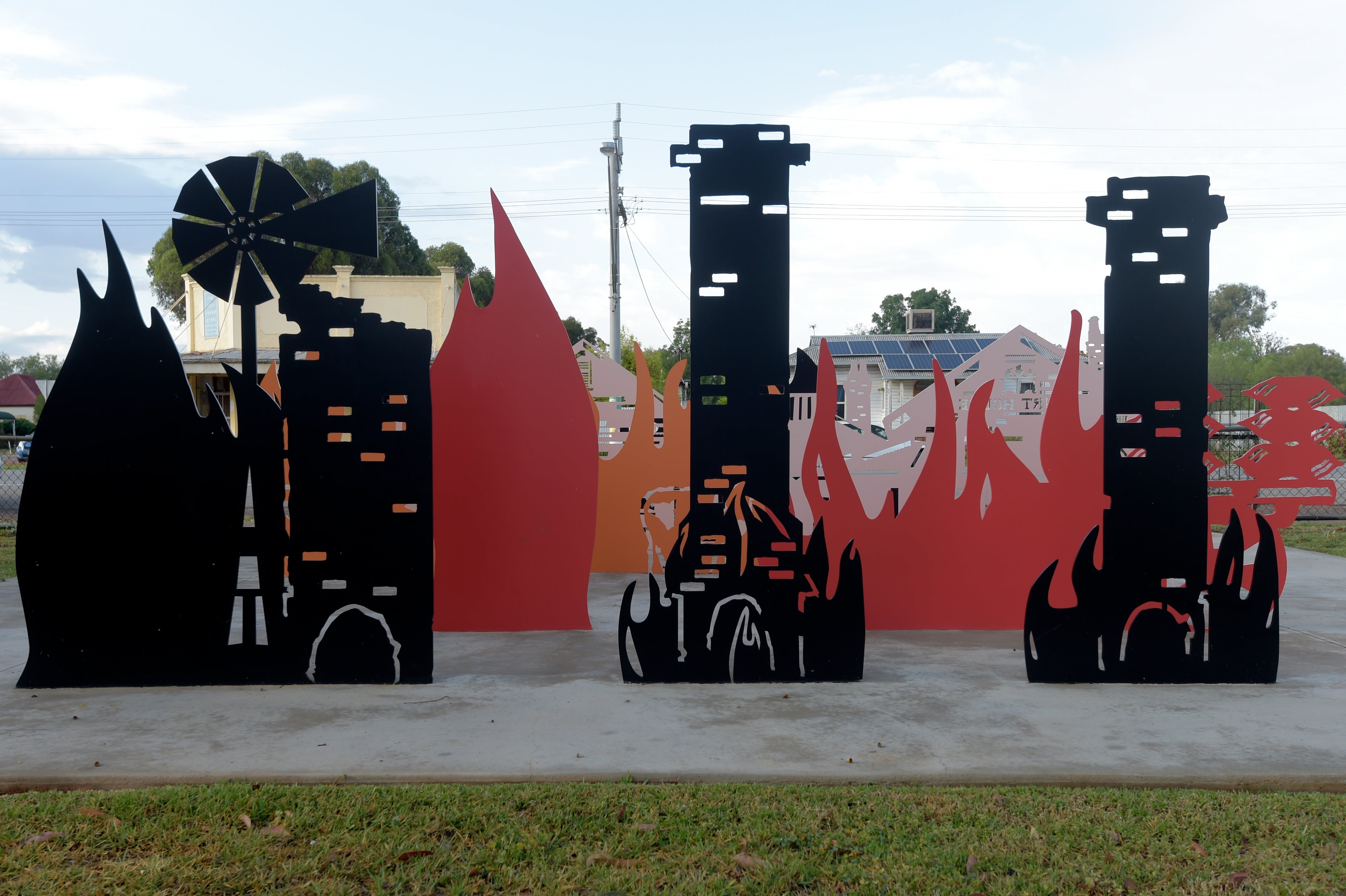 Lyrics Landscapes and Lintels - Leeton Public Art Trail - Attractions Brisbane