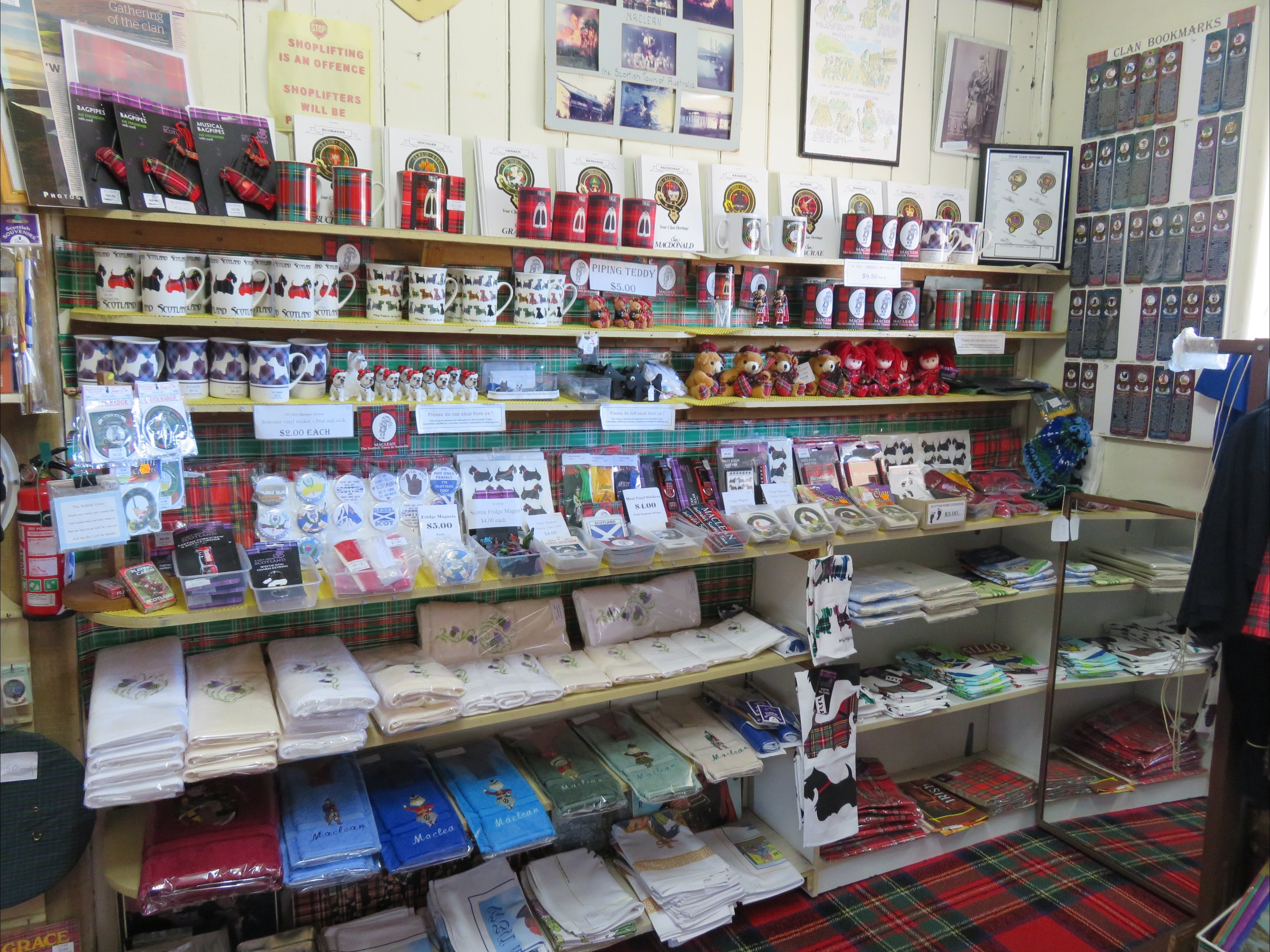 Maclean Scottish Shop - Attractions Brisbane