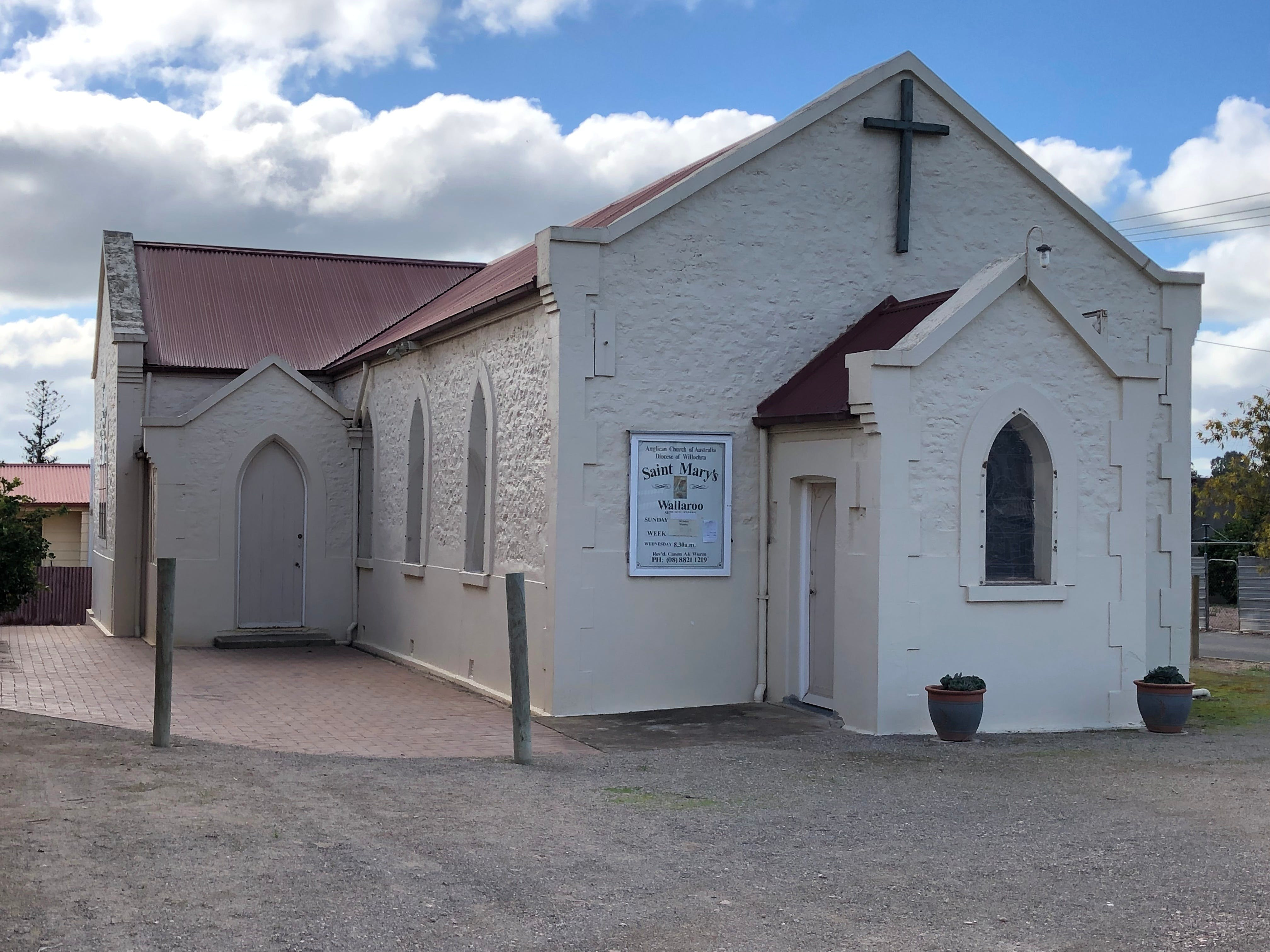 St Mary's Anglican Church Wallaroo - Attractions Brisbane