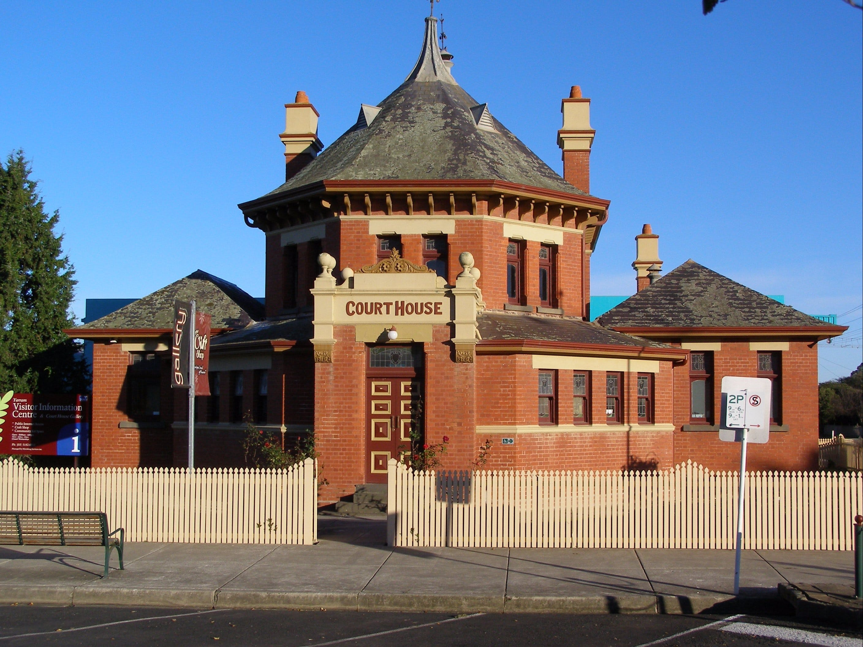 Yarram Courthouse Gallery - Attractions Brisbane