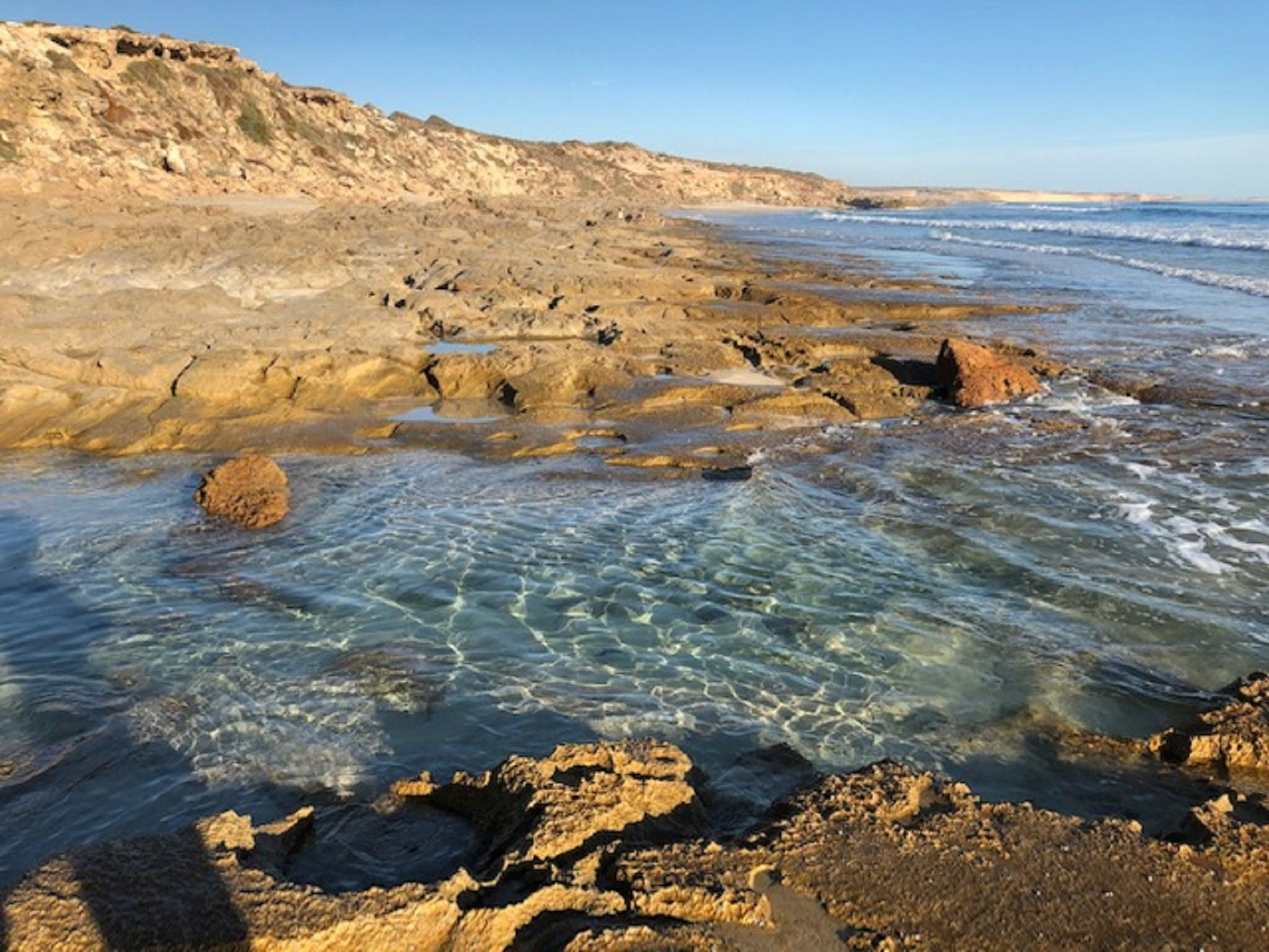 Streaky Bay - Back Beach - Attractions Brisbane