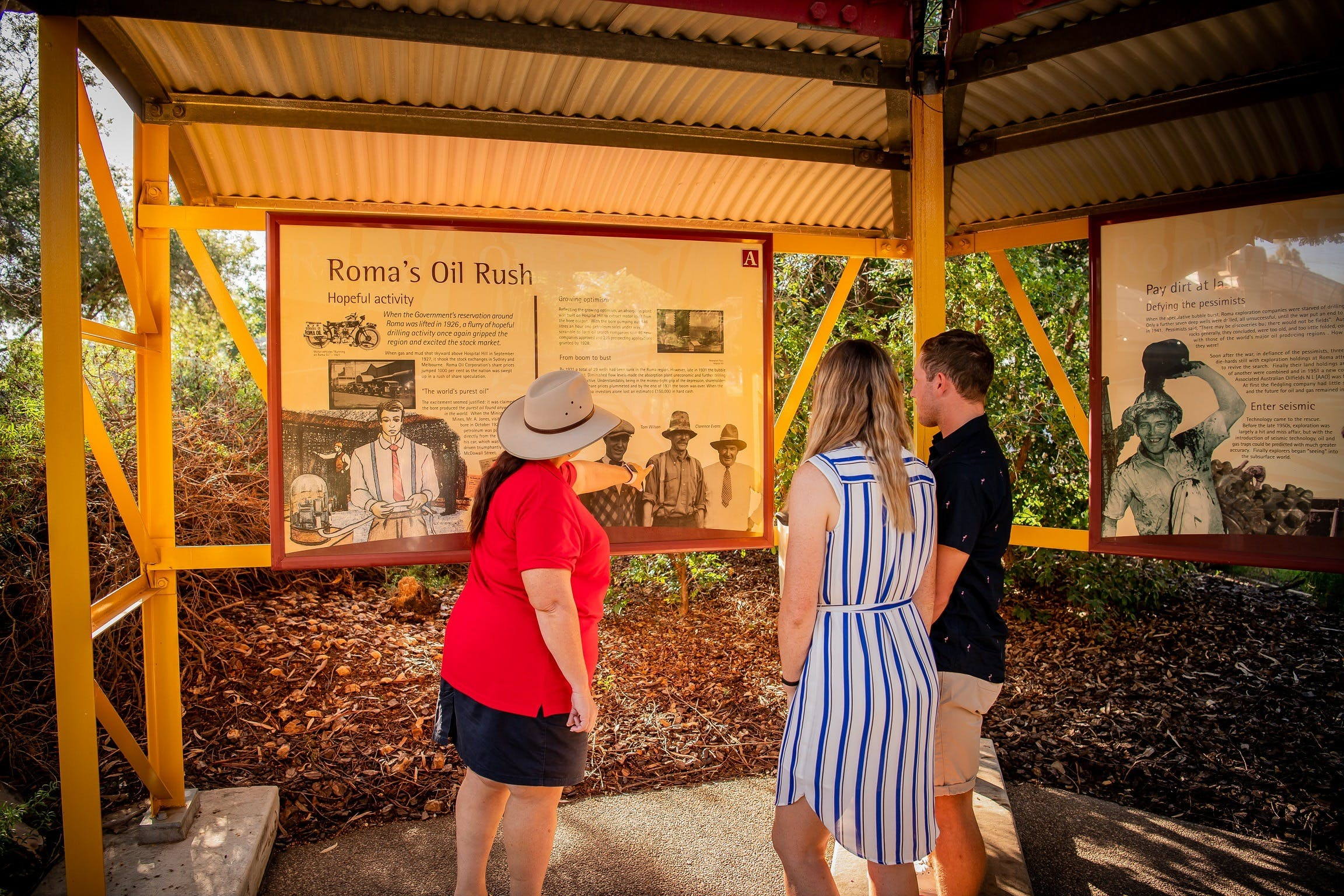 The Big Rig Oil Patch Guided Tour - Attractions Brisbane