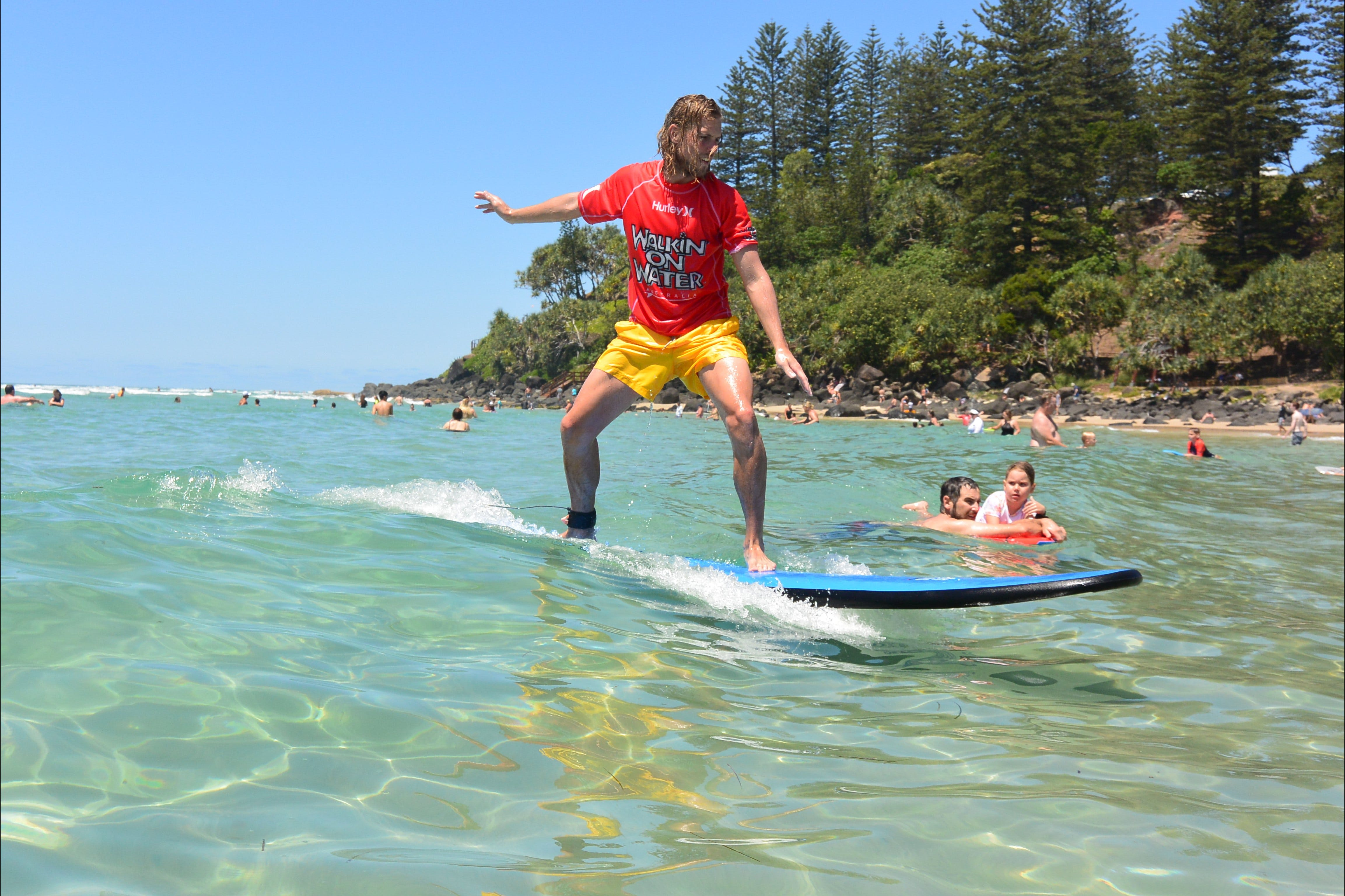 Walkin' On Water Surf School - Attractions Brisbane