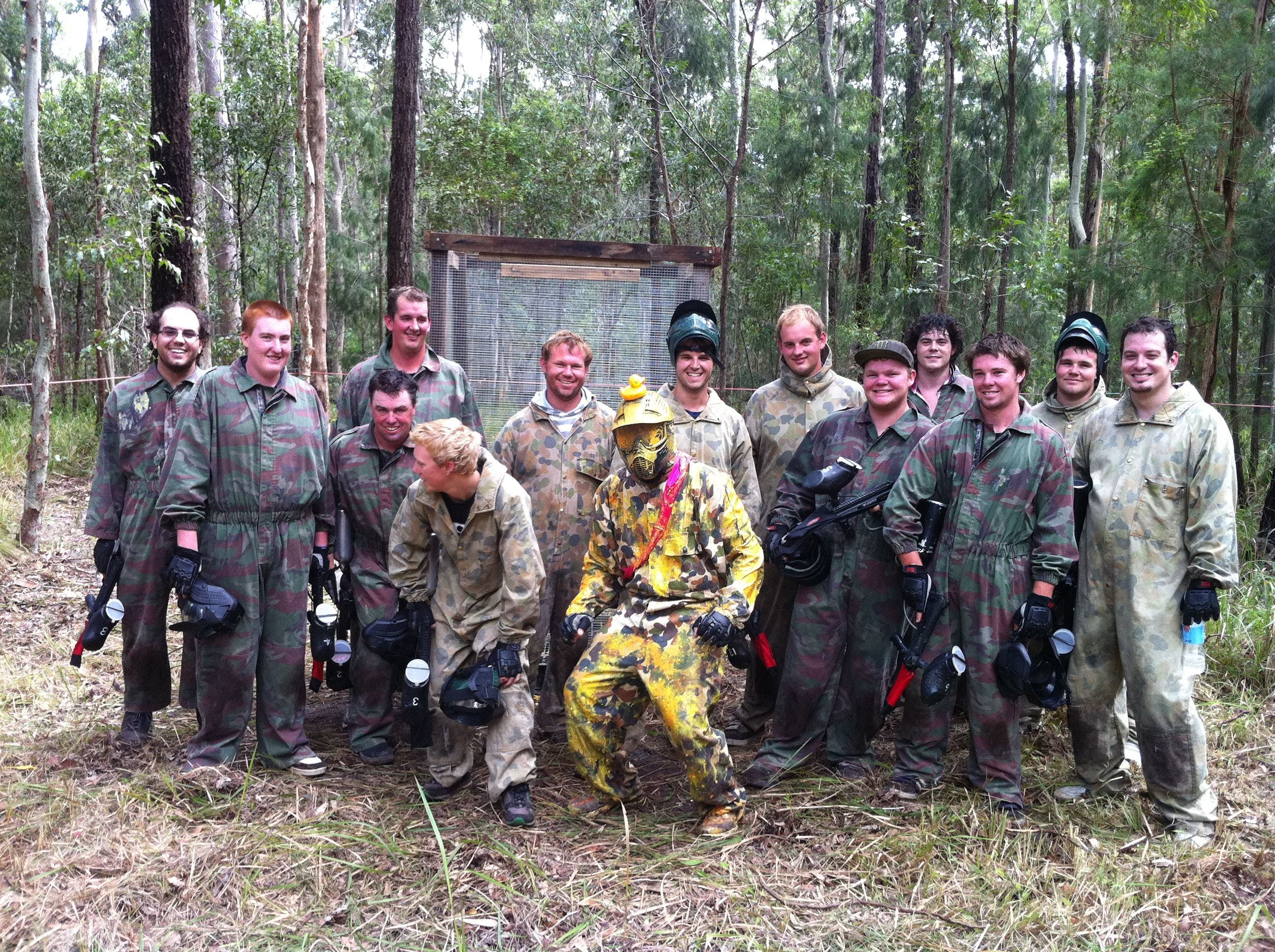 Mid North Coast Paintball - Attractions Brisbane