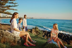 Oceanview Walk Burleigh Head National Park - Attractions Brisbane