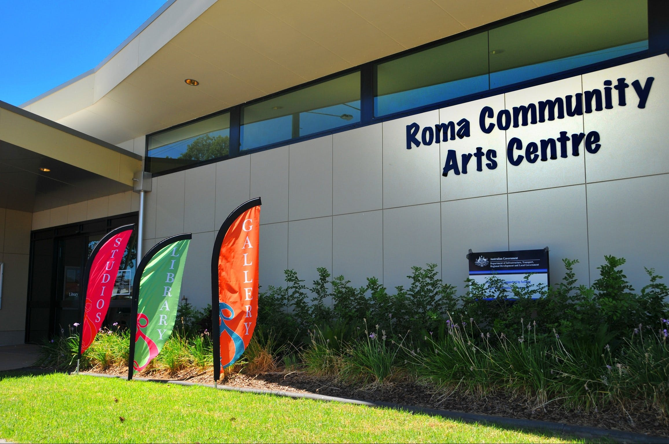 Roma on Bungil Art Gallery and the Walk of Art - Attractions Brisbane