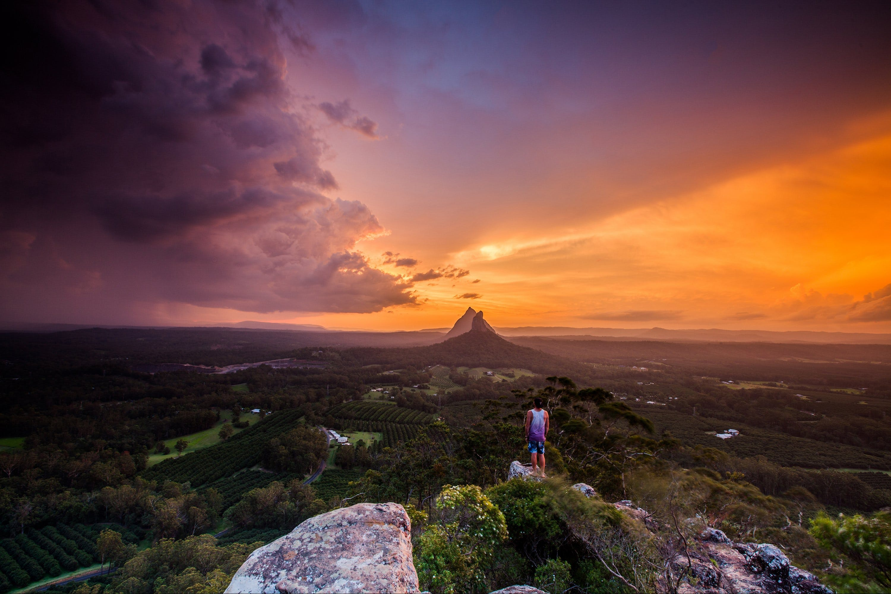 Glass House Mountains - Attractions Brisbane