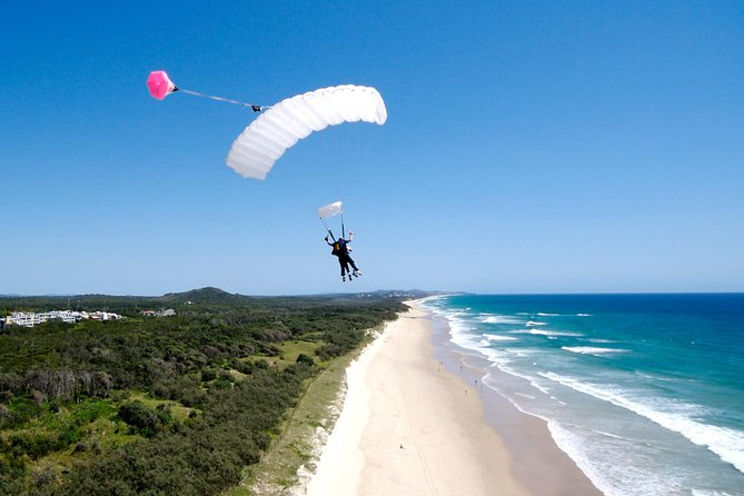 Skydive over Sunshine Coast with Beach Landing - Attractions Brisbane